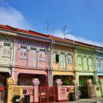 カトンのカラフルなプラナカンのショップハウス  Singapore