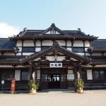 ノスタルジックな和風木造建築の旧大社駅