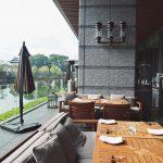 パレスホテル東京「グランドキッチン」テラス席でランチ